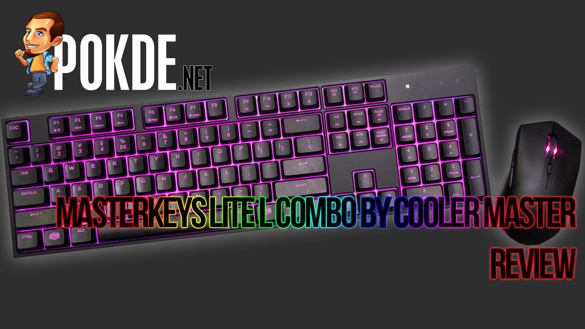 MasterKeys Lite L Combo by Cooler Master review 22