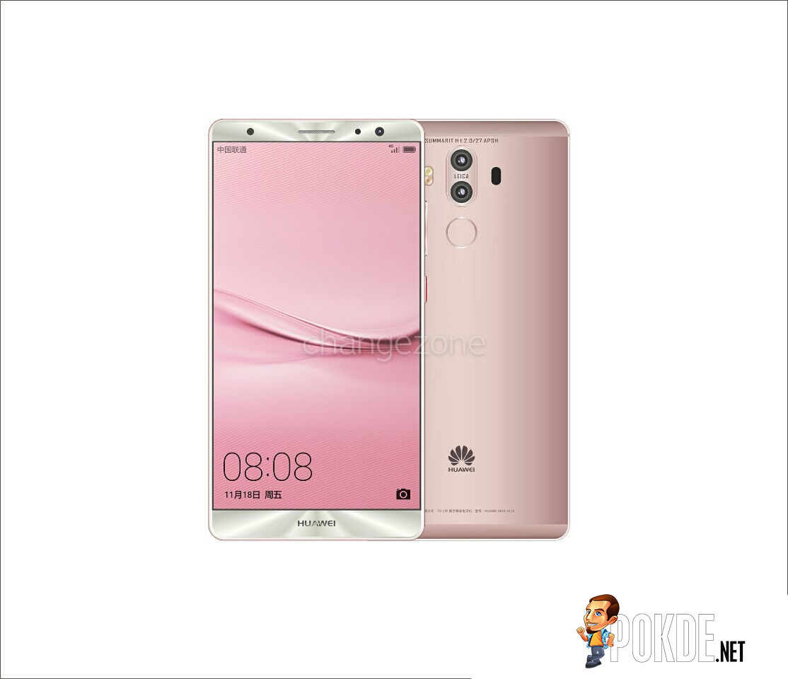 Huawei Mate 9 rendered with new colour options — launch on November 8th? 22