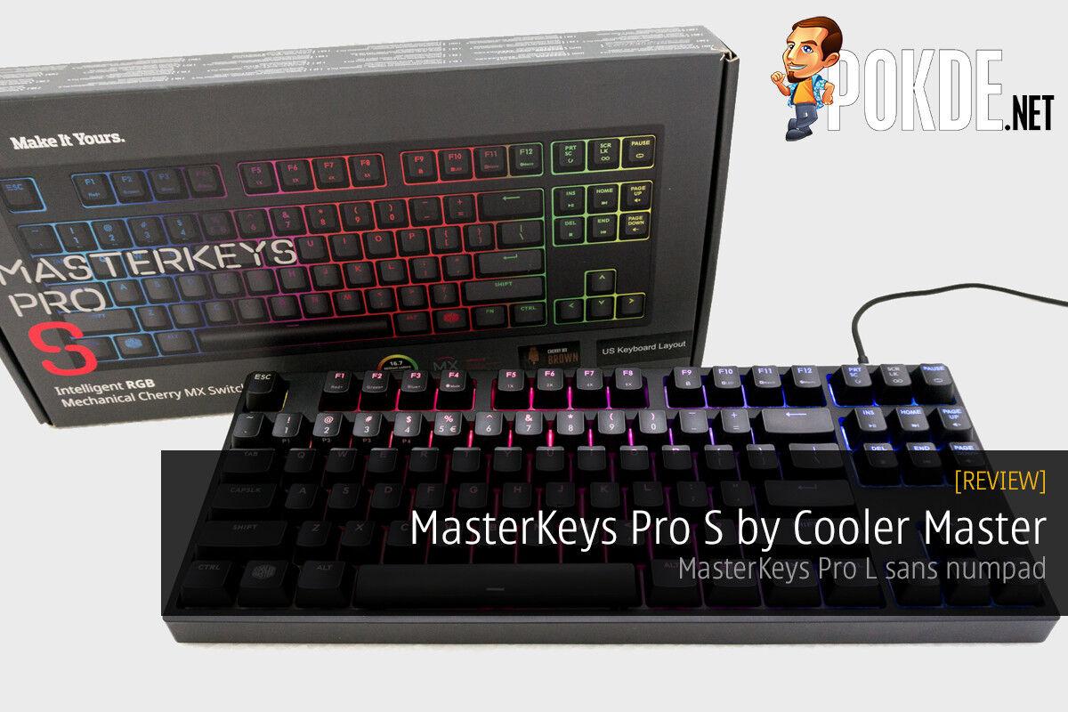 MasterKeys Pro S mechanical keyboard review 28