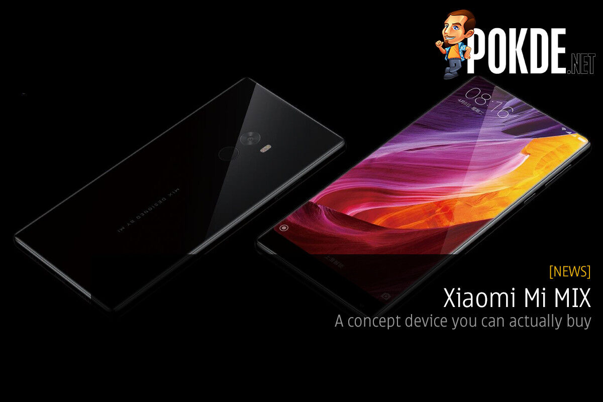 Xiaomi Mi MIX — a concept device you can actually buy 27