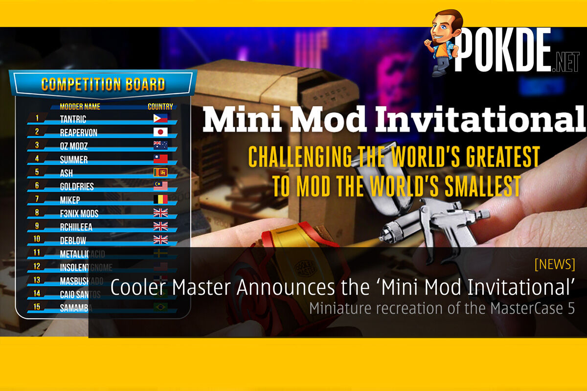 Cooler Master Announces the 'Mini Mod Invitational' 18