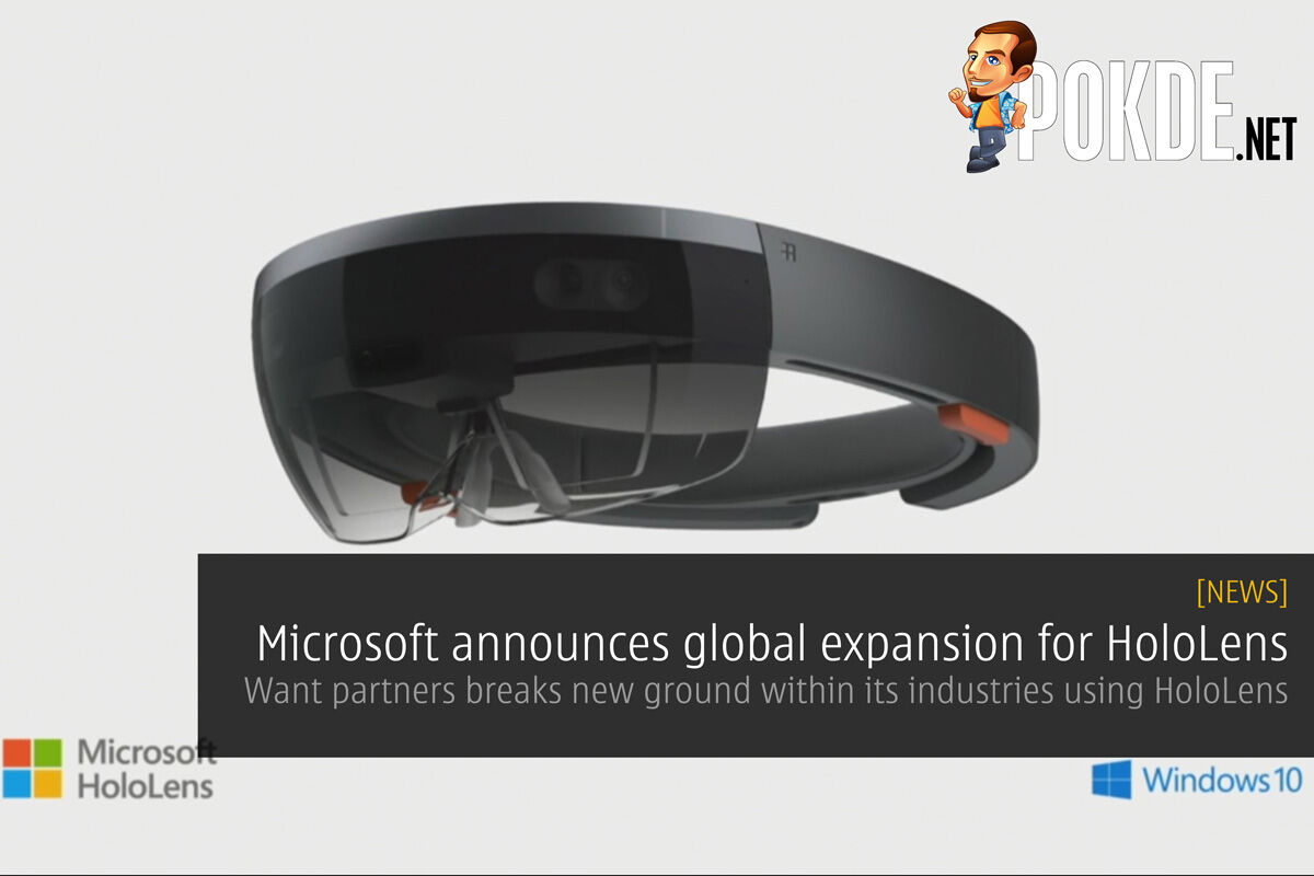 Microsoft announces global expansion for HoloLens 28