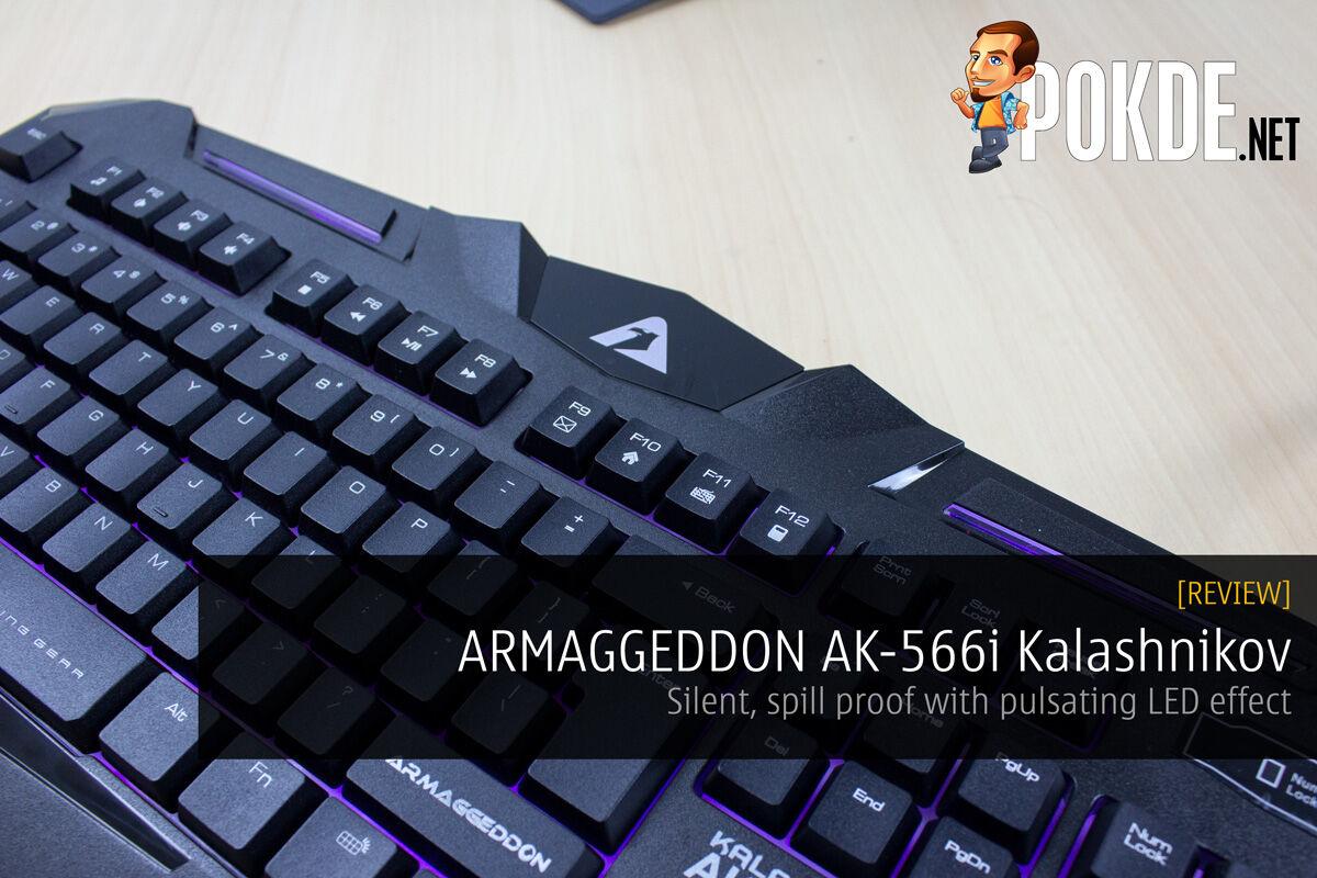 ARMAGGEDDON AK-566i Kalashnikov Gaming Keyboard review 25
