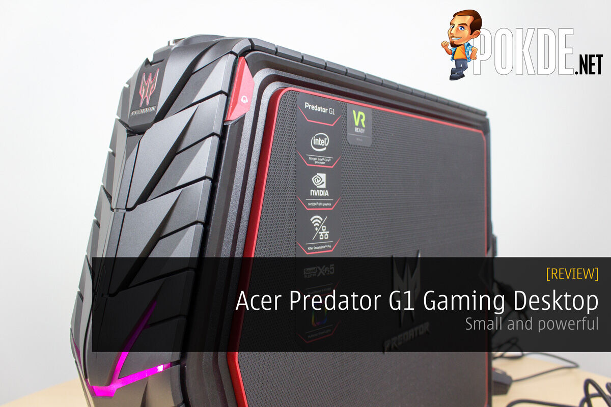 Acer Predator G1 gaming desktop review — small and powerful 24