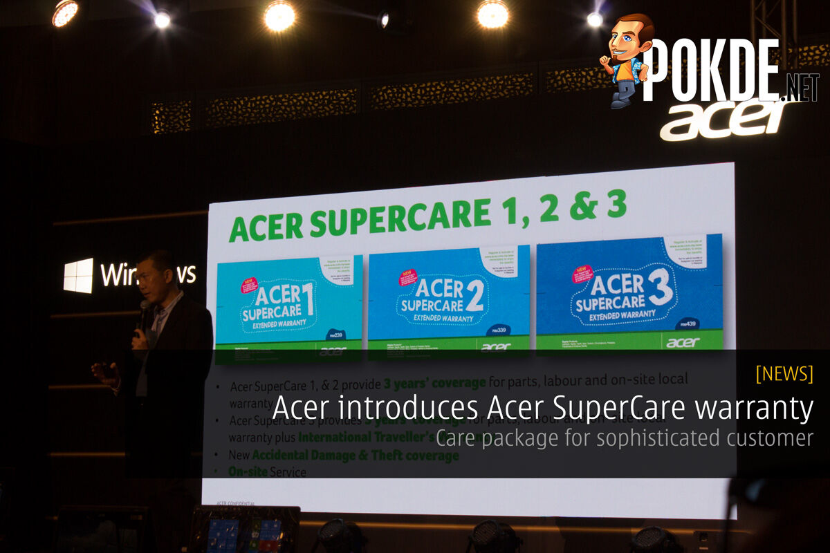 Acer introduces Acer SuperCare warranty — care package for sophisticated customer 20