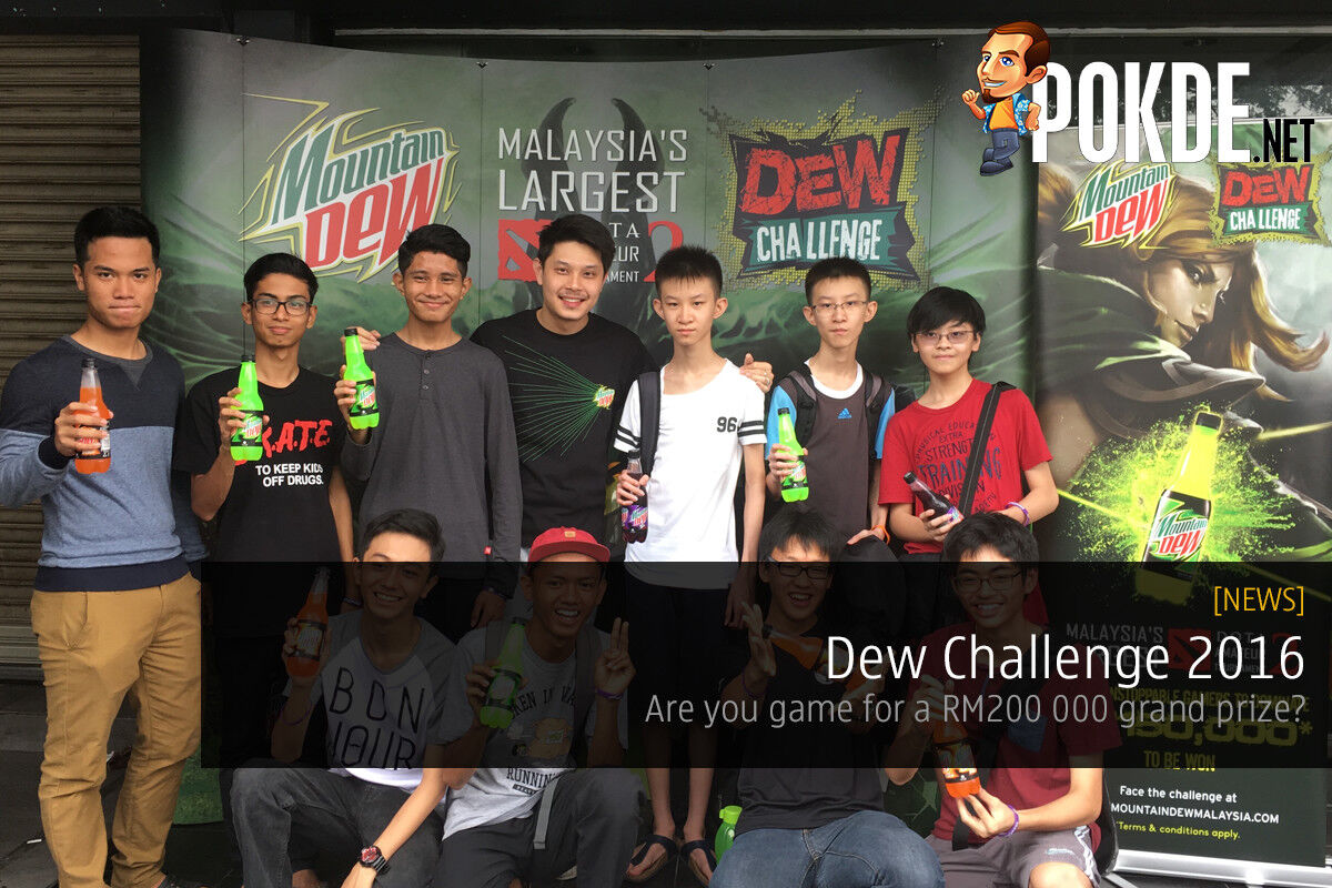 Mountain Dew challenges gamers with a RM200000 grand prize 22