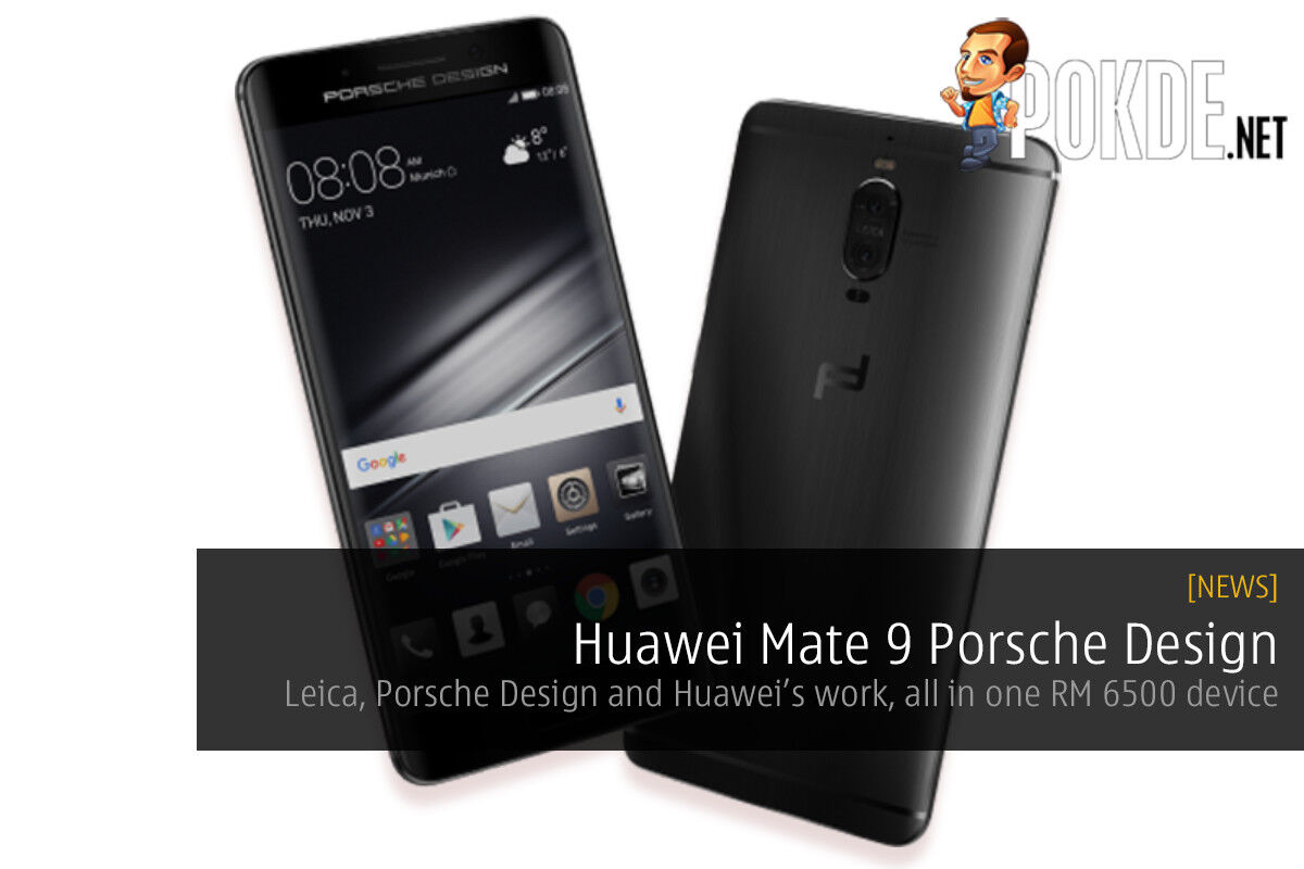 Huawei partners with Porsche to give us the Mate 9 Porsche Design 28