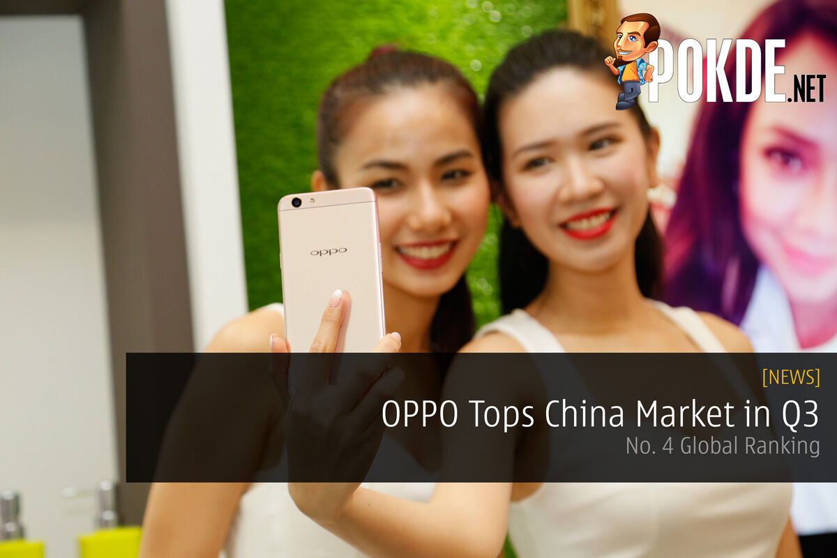 OPPO Tops China Market in Q3 — No. 4 Global Ranking 21