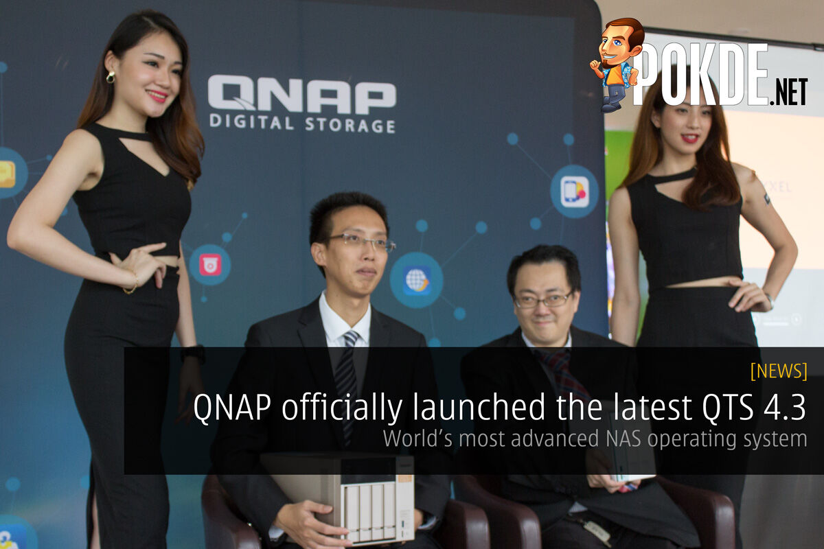 QNAP officially launched the latest QTS 4.3 – world's most advanced NAS operating system 30