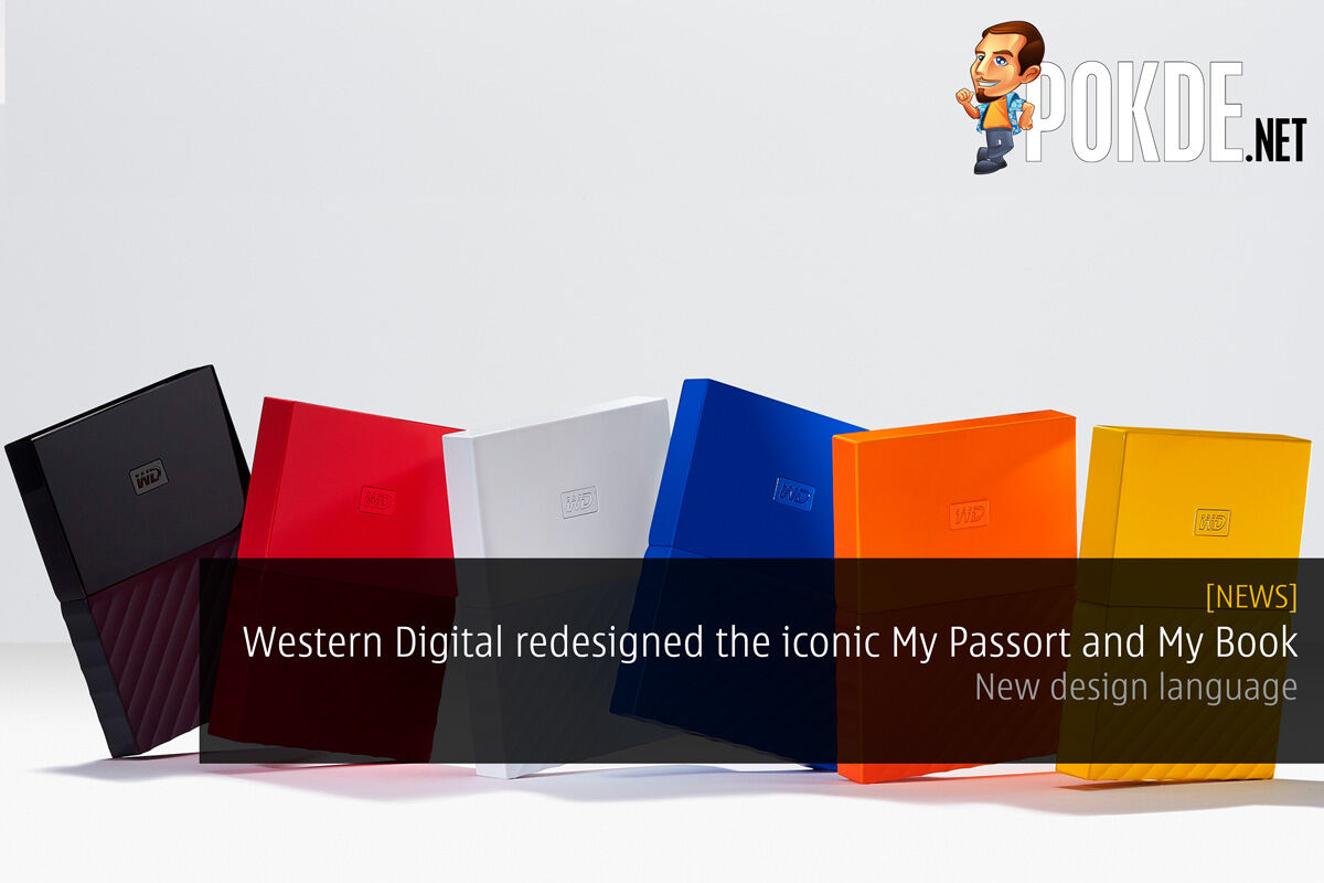 Western Digital redesigned the iconic My Passport and My Book hard drives — new design language 22