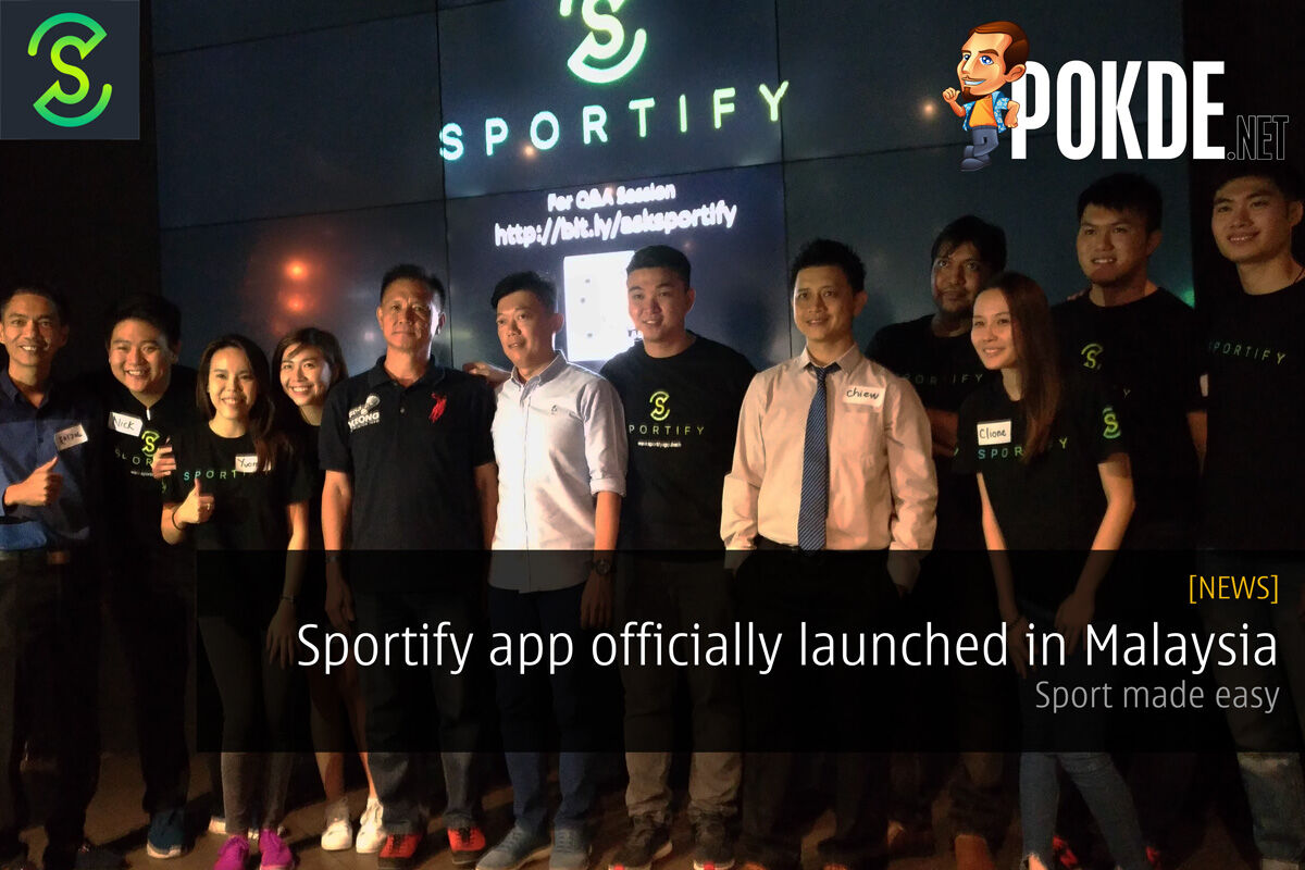 Sportify app officially launched in Malaysia — sport made easy 26