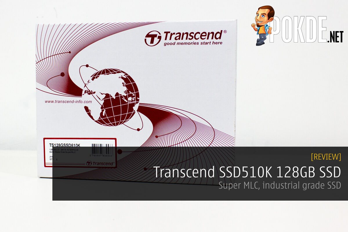 Transcend SSD510K 128GB review — SuperMLC, industrial grade SSD 30