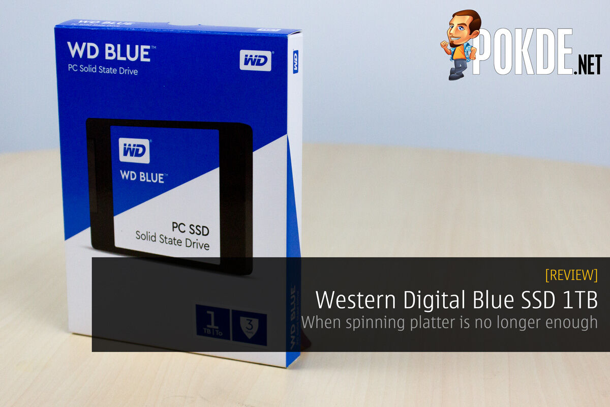 Western Digital Blue SSD 1TB review — when spinning platter is no longer enough 36