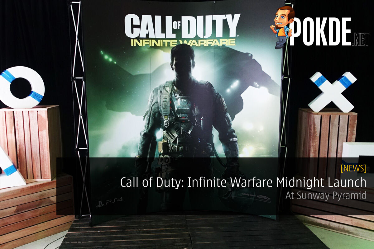 Call of Duty: Infinite Warfare Midnight Launch at Sunway Pyramid 18