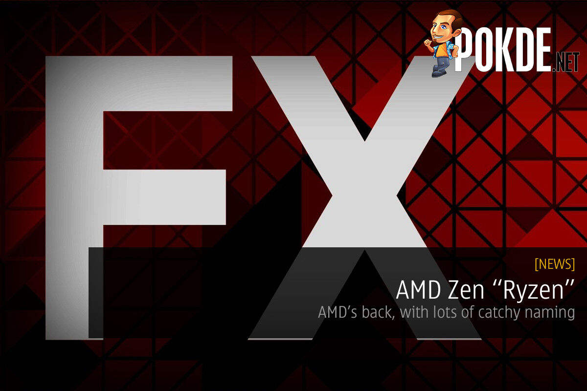 "AMD Zen ""Ryzen"" — AMD's back, with loads of catchy naming 23"