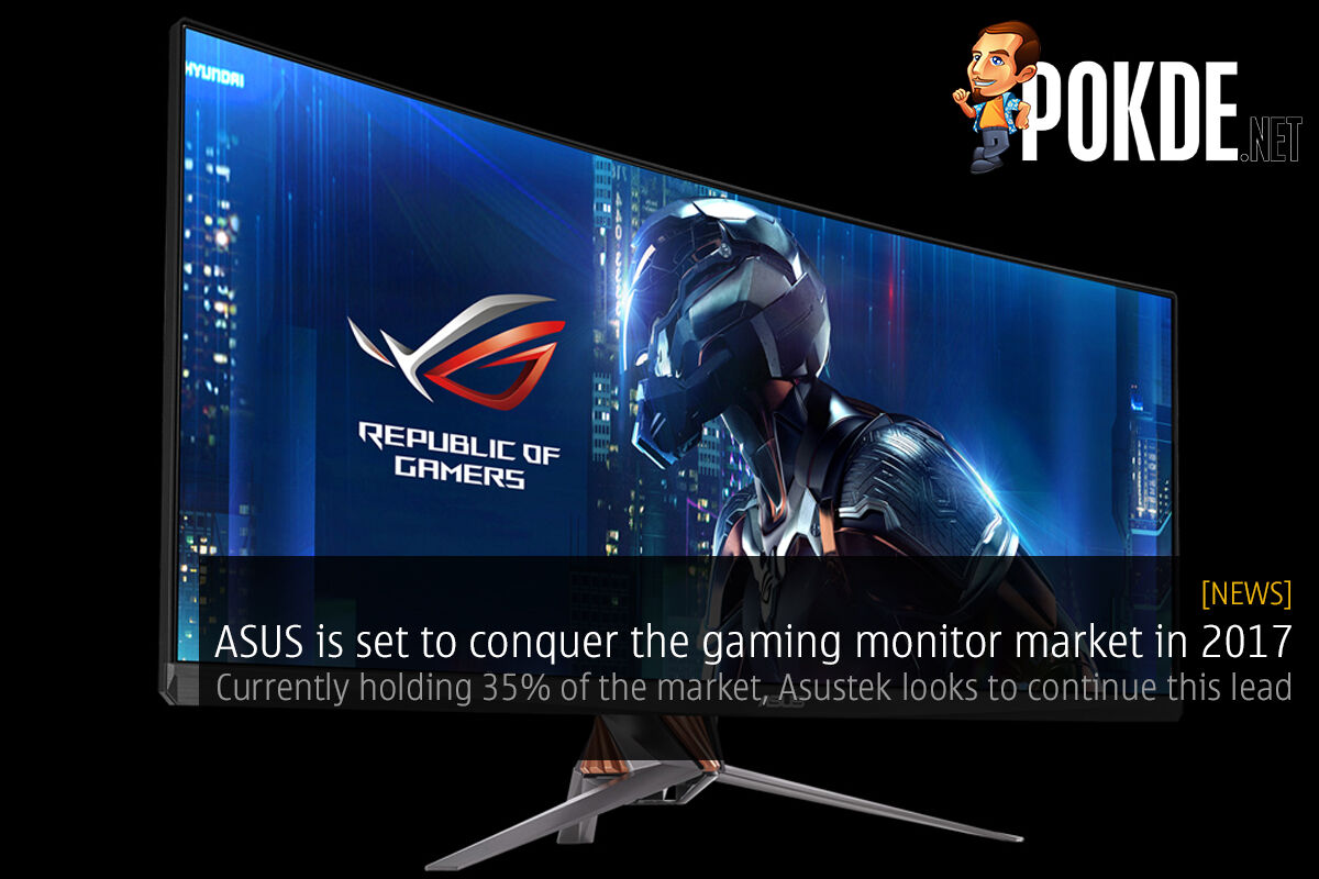 ASUS is set to conquer the gaming monitor market in 2017 51