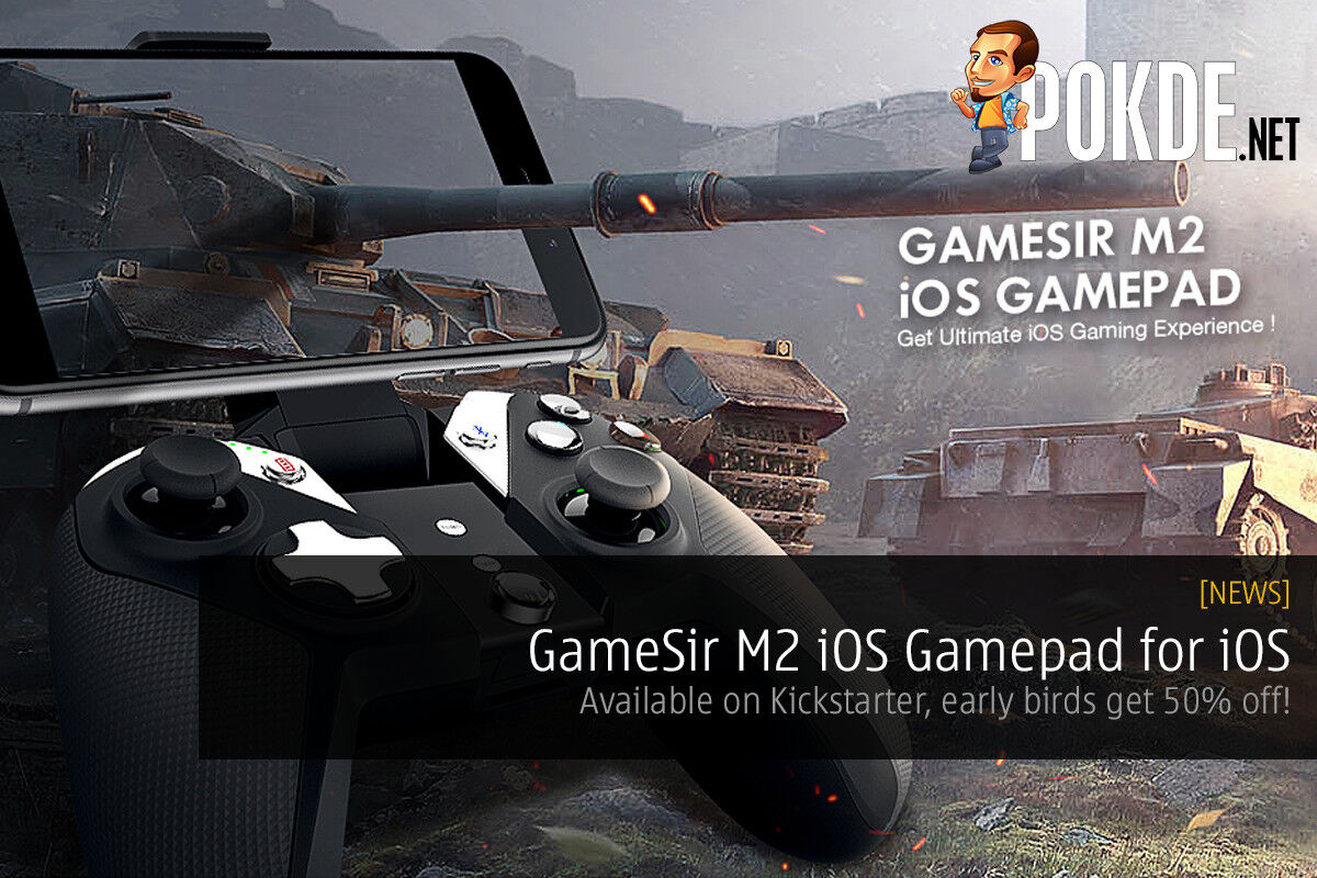 GameSir M2 Gamepad for iOS — Available on Kickstarter, early birds get 50% off! 24