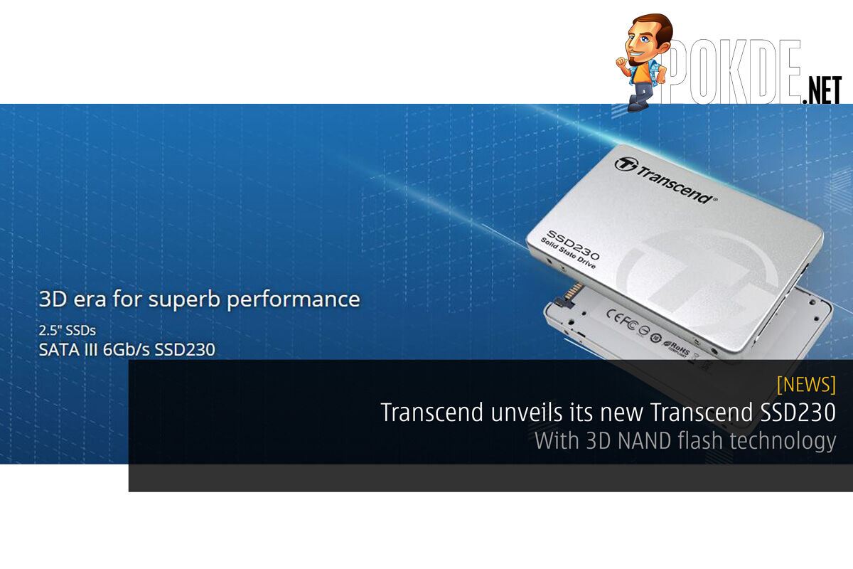 Transcend unveils its new Transcend SSD230 — with 3D NAND flash technology 44