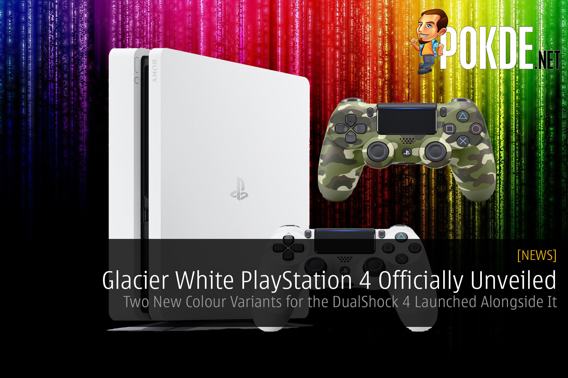 PlayStation 4 PS4 Glacier White