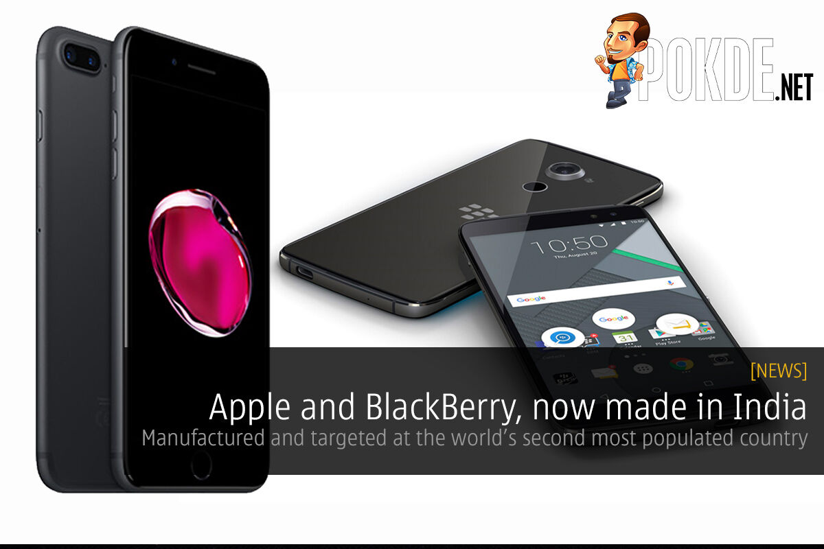 Apple and BlackBerry, now made in India 22