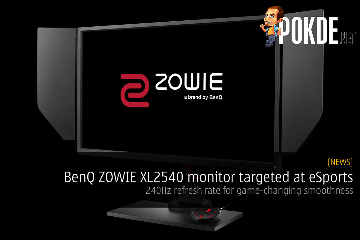 BenQ ZOWIE XL2540 monitor targeted at eSports 30