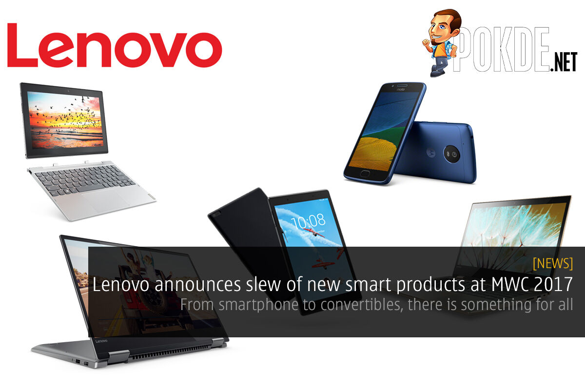 Lenovo announces slew of new smart products at MWC 2017 21