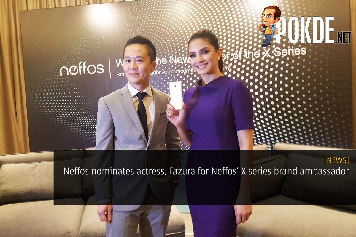 Neffos nominates actress, Fazura for Neffos X series brand ambassador 19