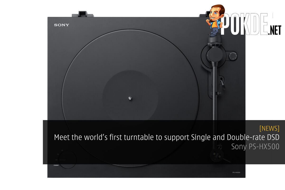 Meet the world's first turntable to support Single and Double-rate DSD – Sony PS-HX500 29