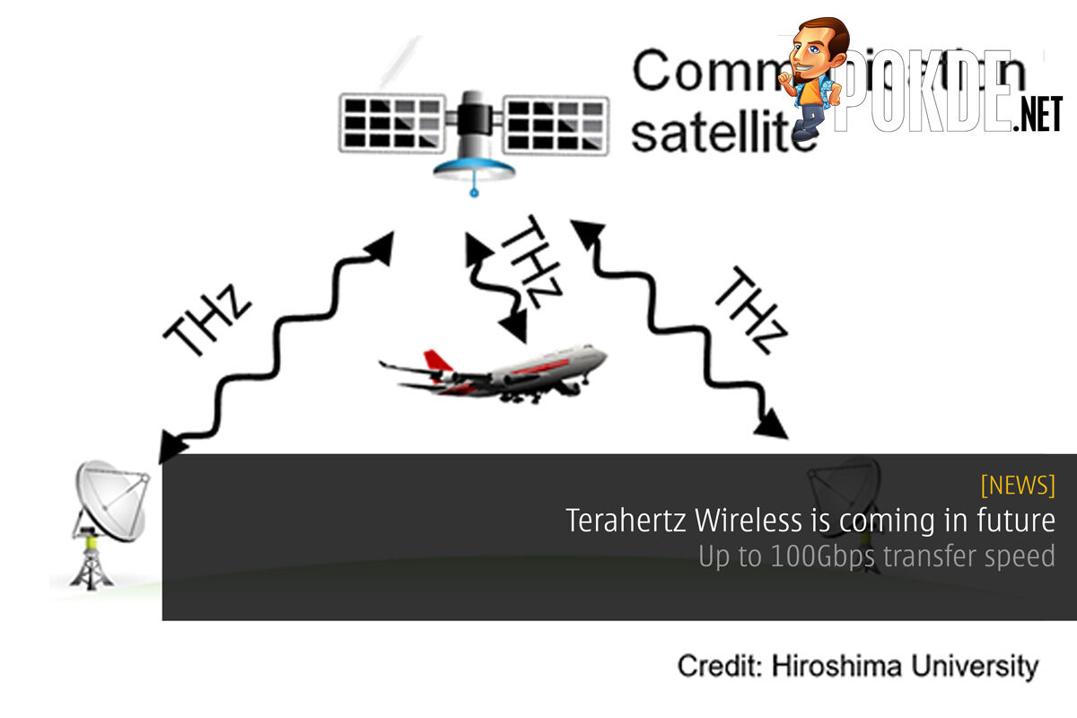 Terahertz Wireless is coming in future – up to 100Gbps transfer speed 26
