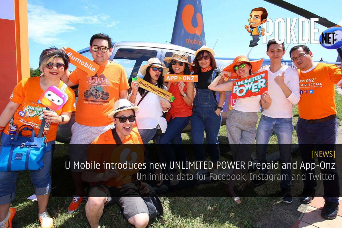 U Mobile introduces new UNLIMITED POWER Prepaid and App-Onz 23