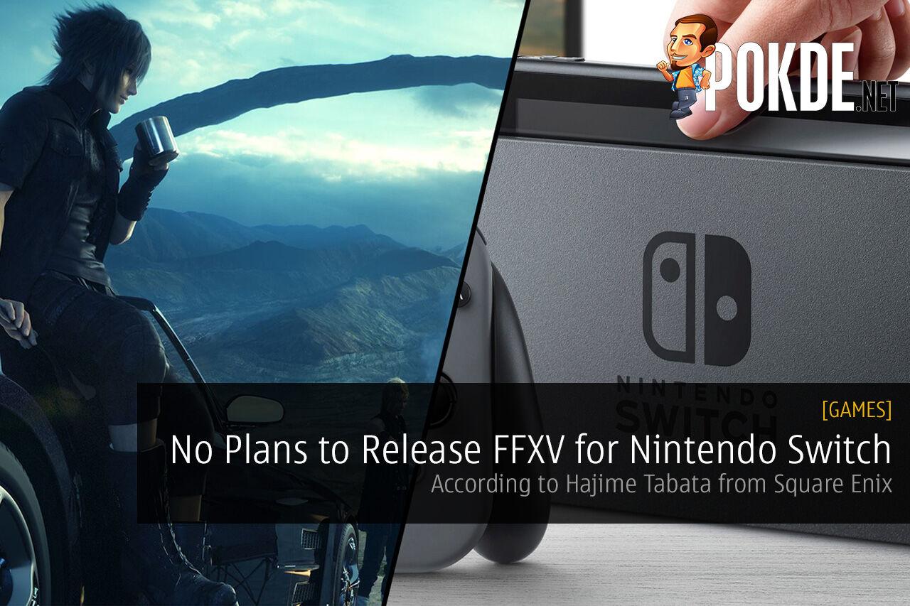 final fantasy xv nintendo switch ffxv