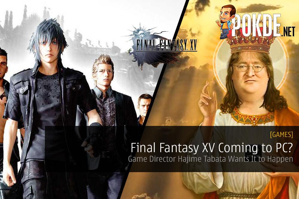 square enix final fantasy xv PC Steam