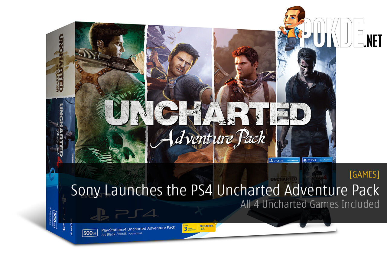 Sony PlayStation 4 Uncharted Adventure Pack
