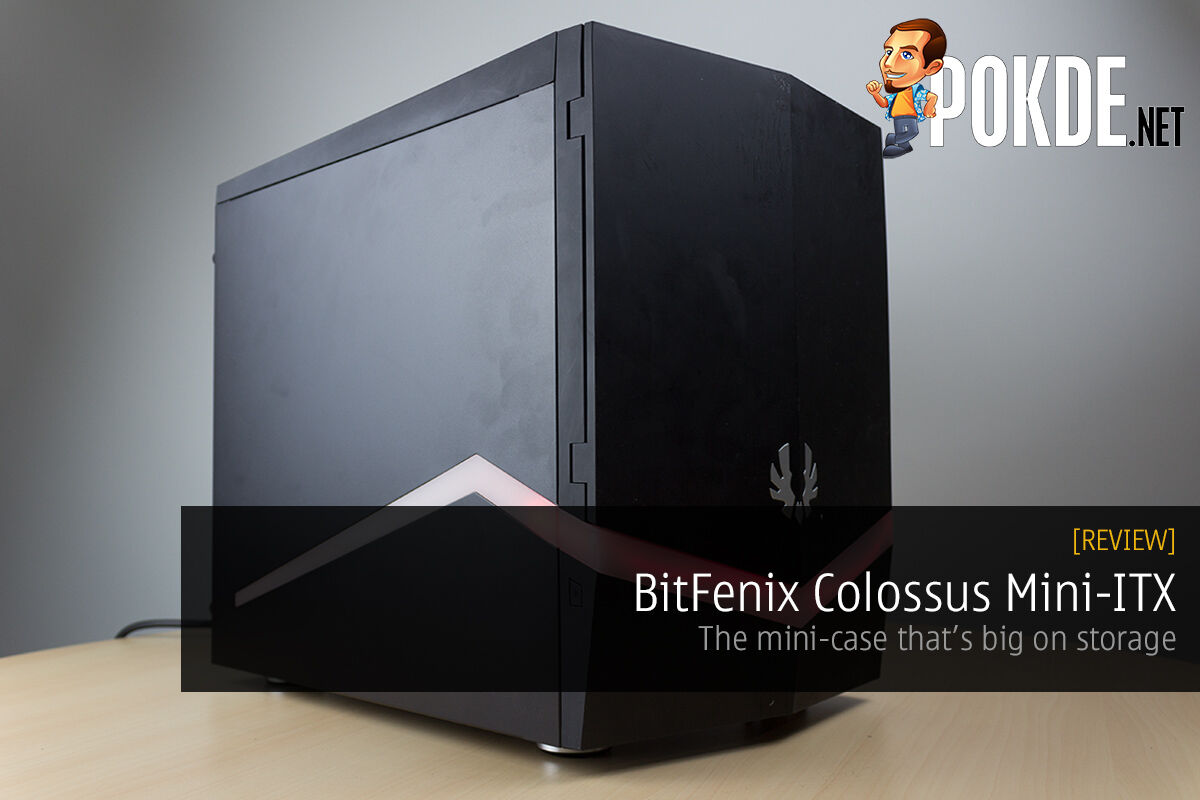 BitFenix Colossus Mini-ITX review — The mini-case that's big on storage 55