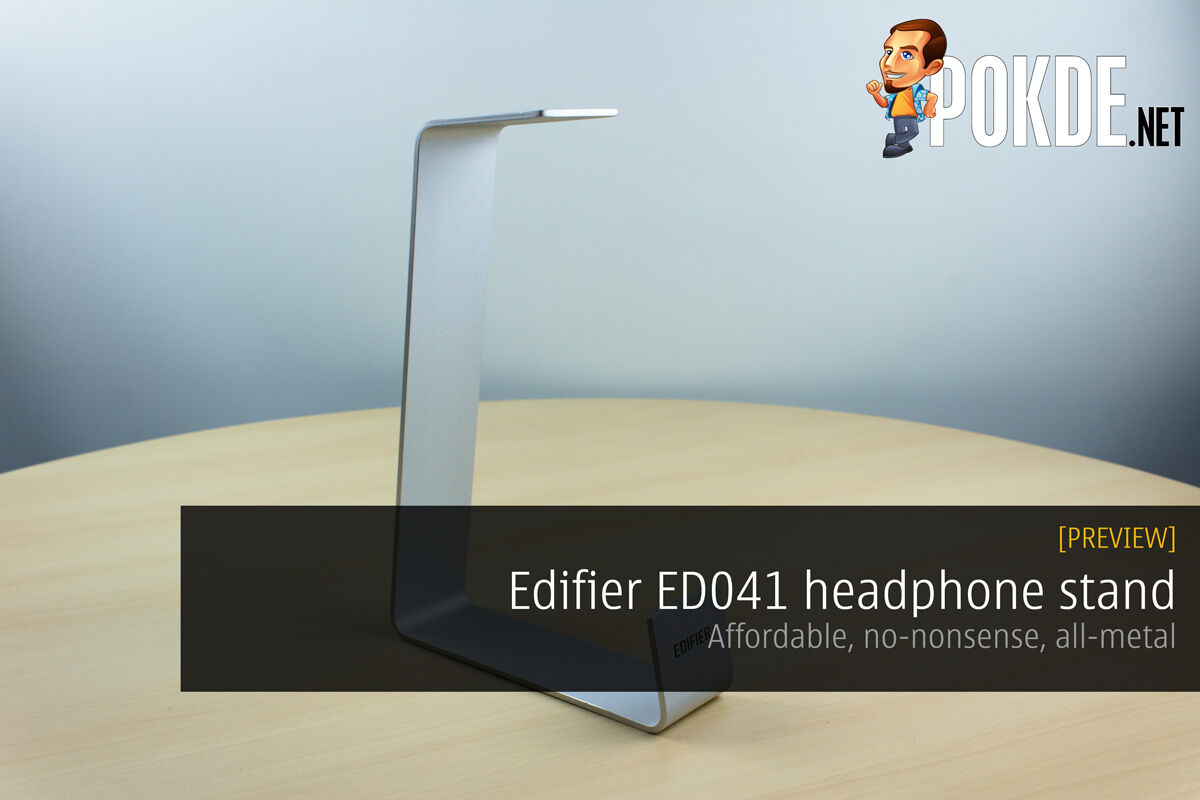 Edifier ED041 headphone stand — affordable, no-nonsense, all-metal 23