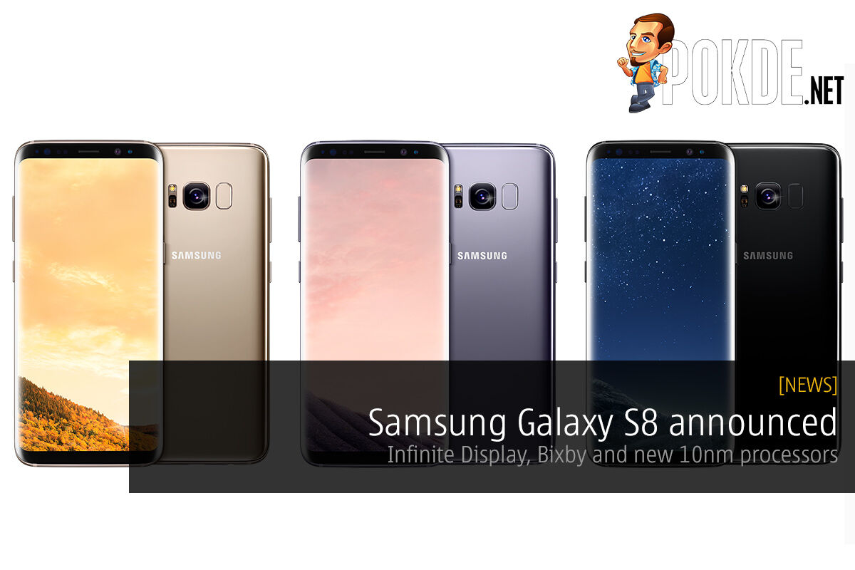 Samsung Galaxy S8 announced, Infinite Display, Bixby and new 10nm processors 60