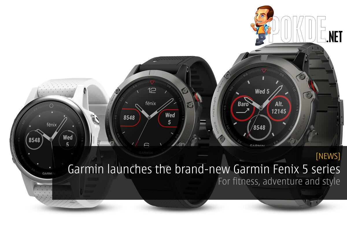 Garmin launches the brand-new Garmin Fenix 5 series – For fitness, adventure and style 27