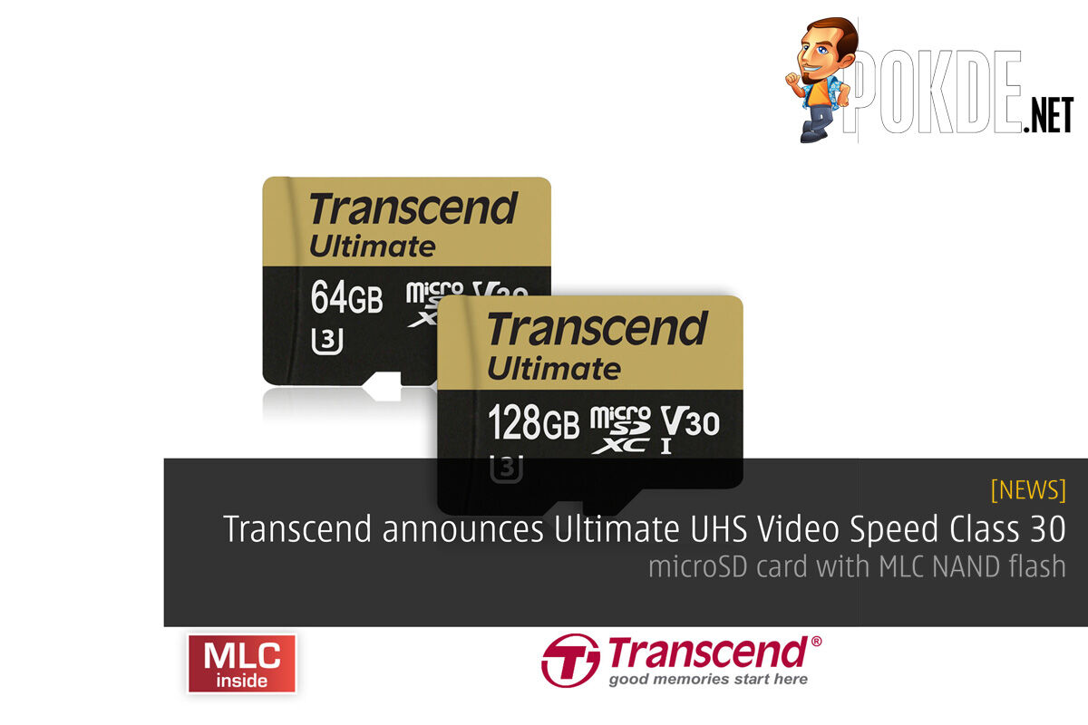 Transcend announces Ultimate UHS Video Speed Class 30 - microSD card with MLC NAND flash 29