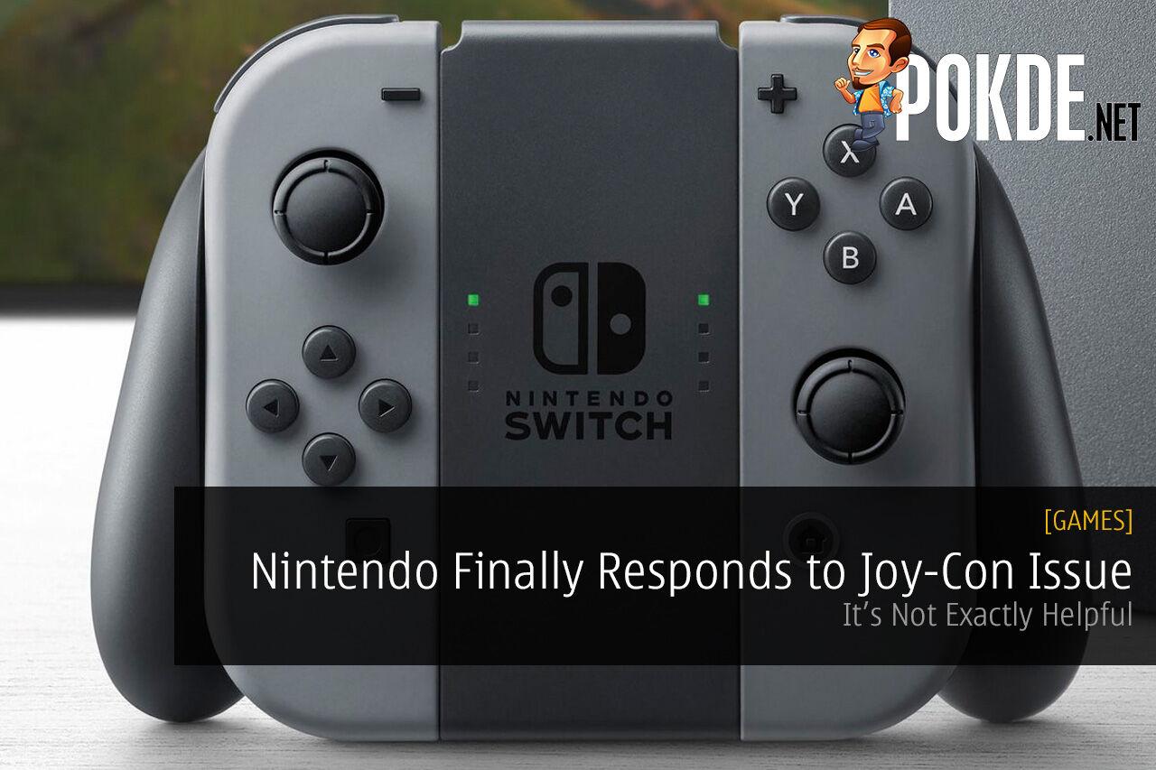 nintendo switch joy-con issue