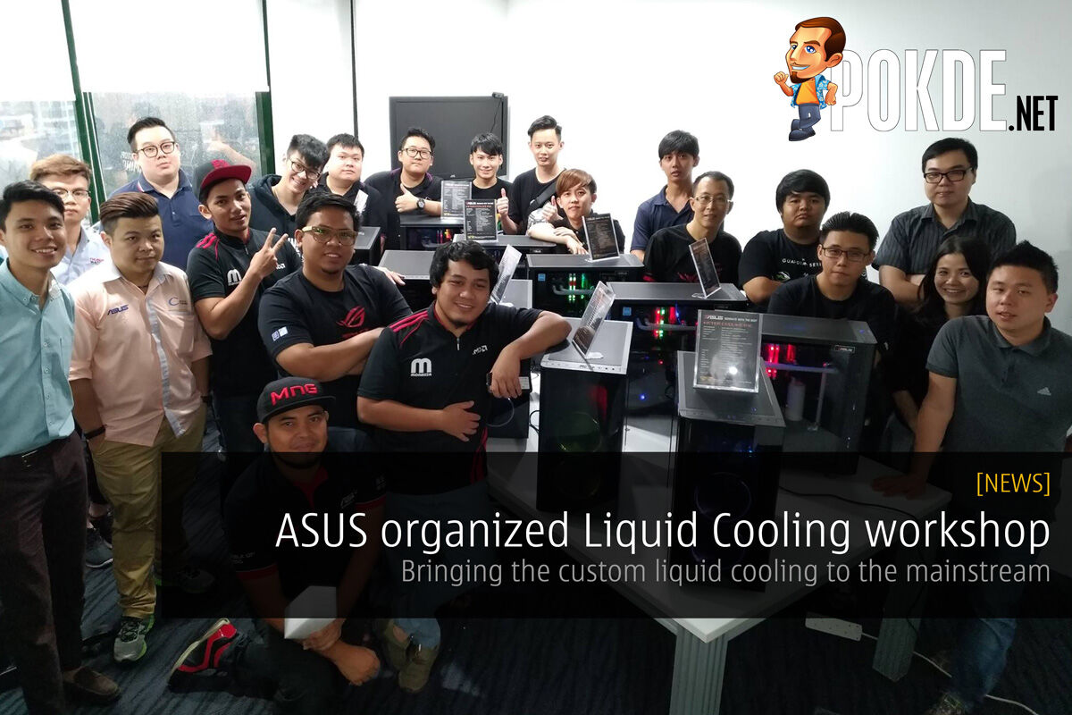 ASUS organized Liquid Cooling workshop for dealers - Bringing the custom liquid cooling to the mainstream 25