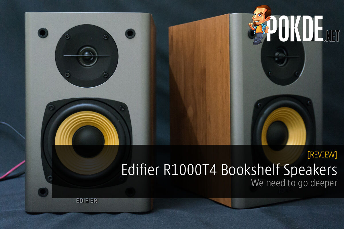 Edifier R1000T4 bookshelf speakers review — We need to go deeper 39