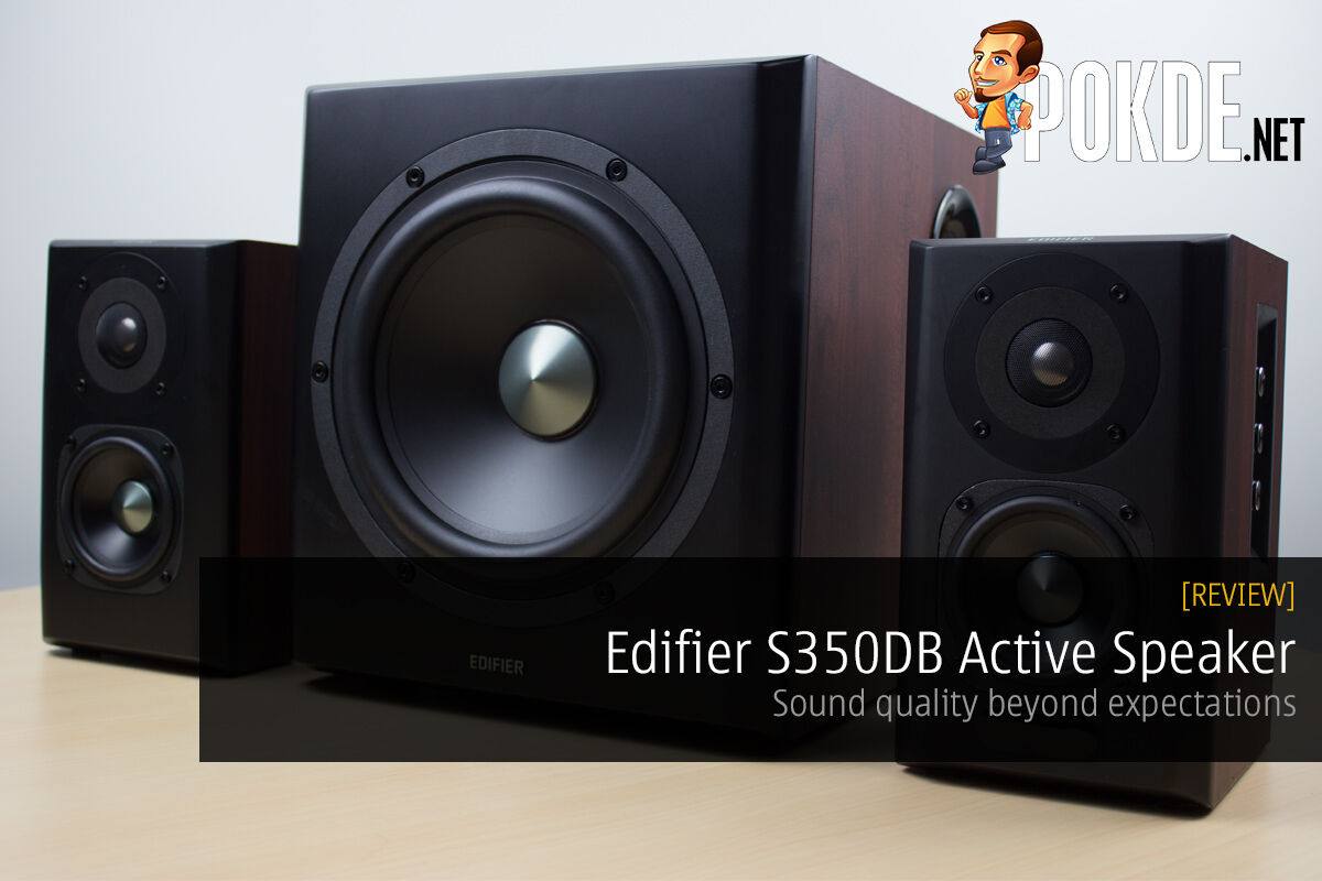 Edifier S350DB Active Speaker review — Sound quality beyond expectations 54