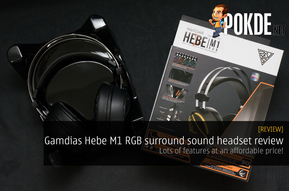 Gamdias Hebe M1 RGB surround sound headset review — lots of features at an affordable price 38