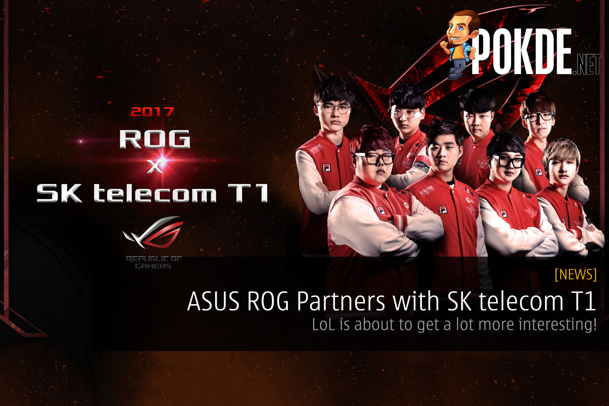 ASUS ROG Partners with SK telecom T1 World Champs 27