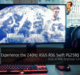 Experience the 240Hz ASUS ROG Swift PG258Q monitor at ROG Brightstar Concept Store, the One and Only Unit showcased in KL! 27