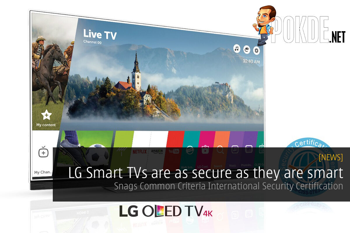 LG Smart TVs are as secure as they are smart; snags Common Criteria International Security Certification 26