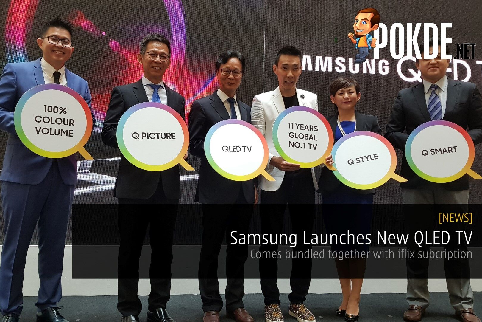 Samsung Launches New QLED TV - Comes bundled together with iflix subcription 17