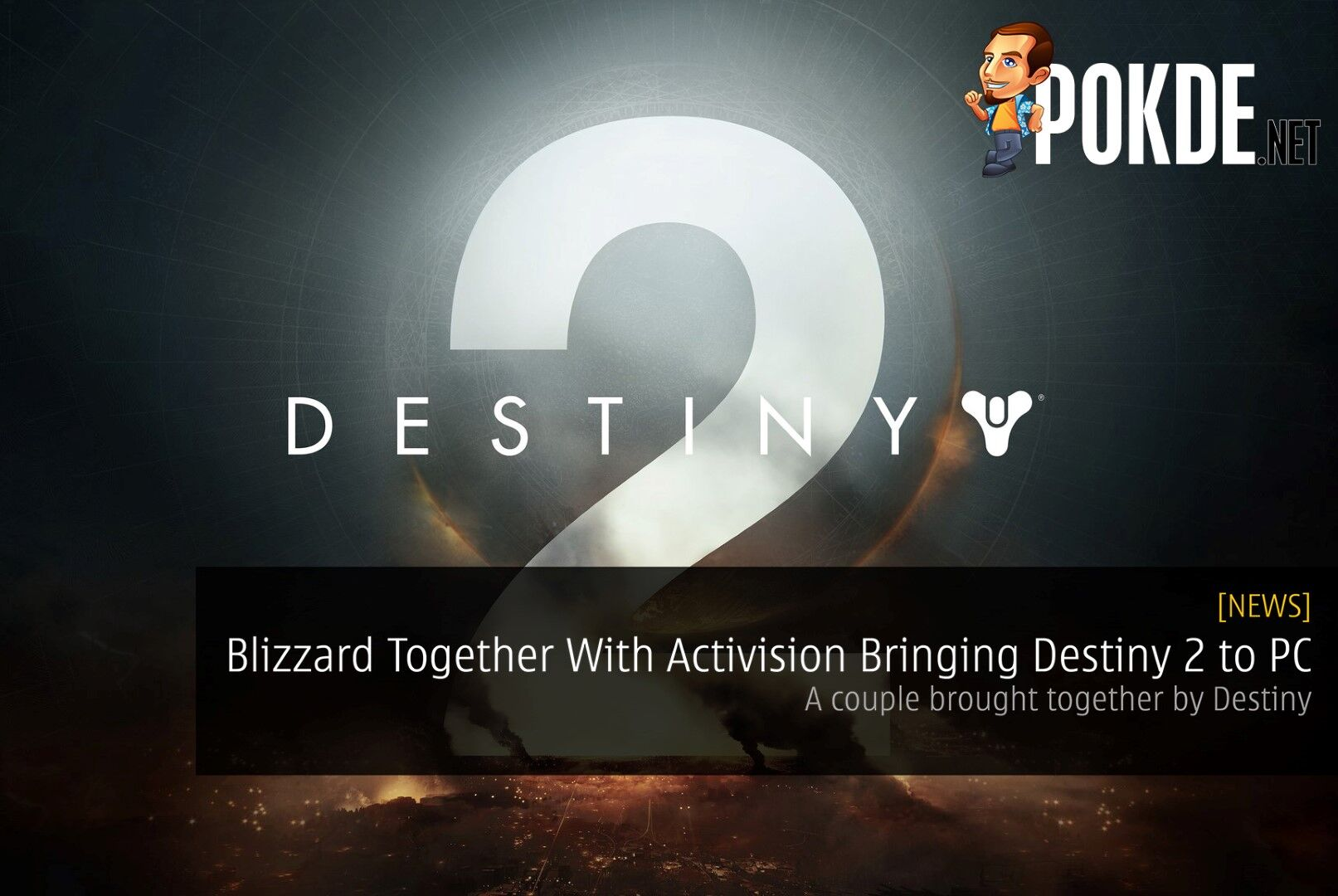 Blizzard Together With Activision Bringing Destiny 2 to PC - A couple brought together by Destiny 41