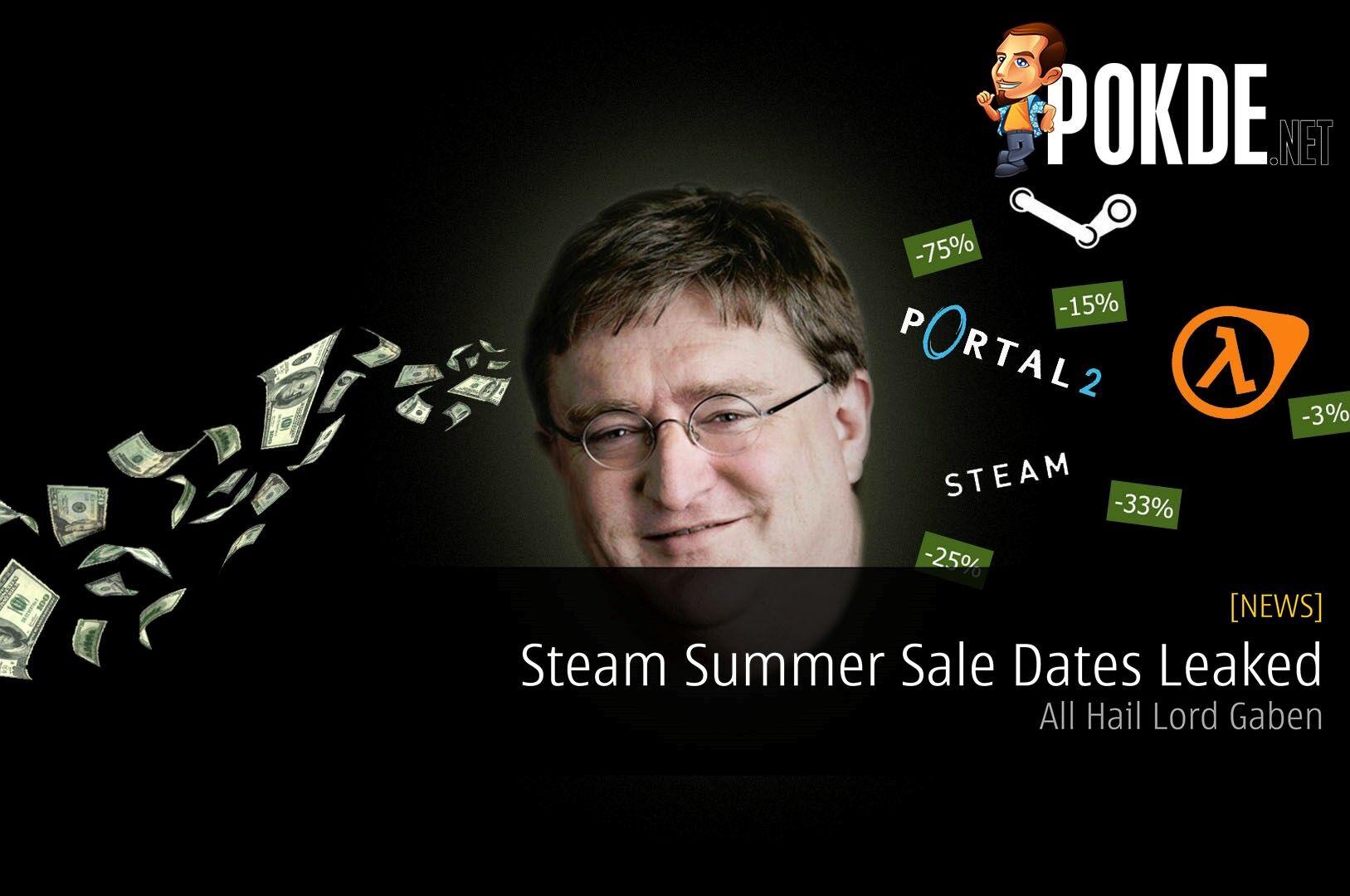 Steam Summer Sale Dates Leaked - All Hail Lord Gaben 28