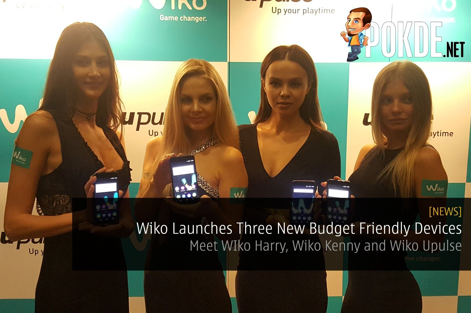 Wiko Launches Three New Budget Friendly Devices - Meet WIko Harry, Wiko Kenny and Wiko Upulse 25